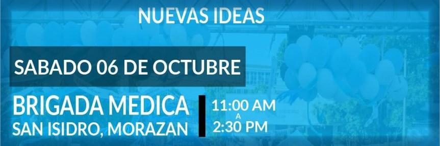 Brigada medica de nuevas ideas lleva bienestar medico a el oriente de el Salvador!