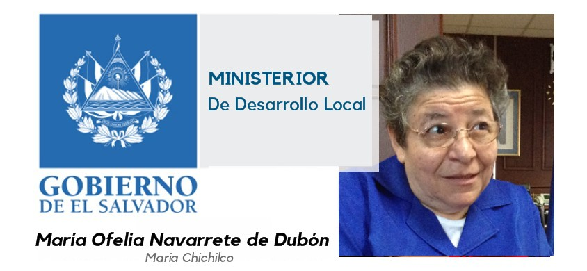 Maria Ofelia Navarrete de Doubon: Ministra de Desarrollo local