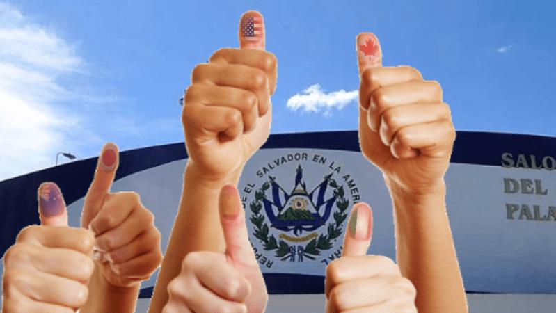 Diaspora Salvadoreña promueve el VOTO en el exterior.