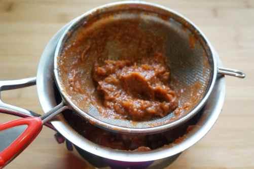 Tamarind Date Chutney Instant Pot Pressure Cooker - Sieve (2)