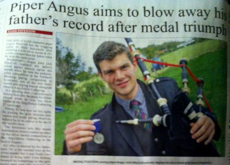 The Oban Times story