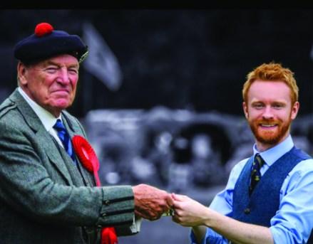 Darach Urquhart, winner at Lochearnhead