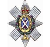 black watch badge