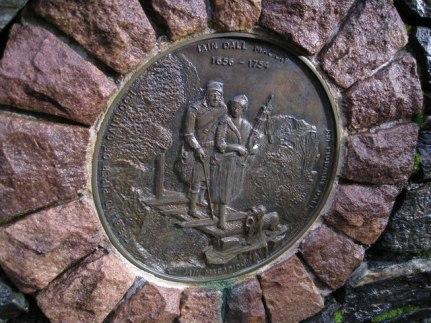 The Iain Dall Memorial at Gairloch