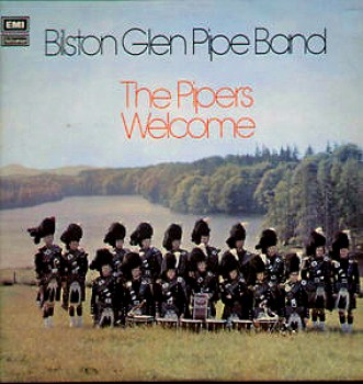 An LP made by the very successful Bilston Glen Pipe Band