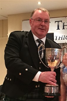 William McCallum with the MSR trophy