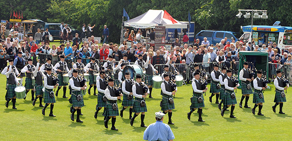 Another very successful day for P/M Stuart Liddell and Inveraray & District Pipe Band, the current British Champions