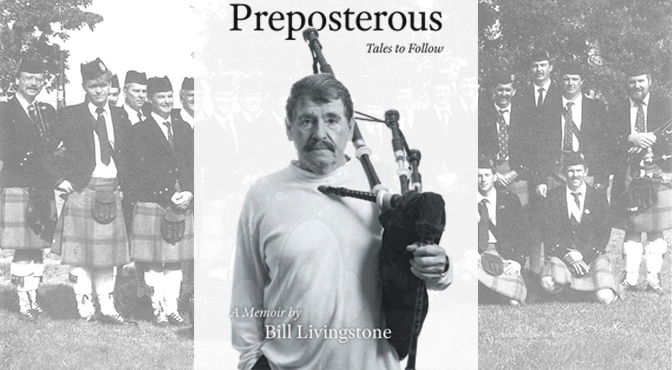 McCallum Bagpipes to Sponsor Launch of Bill Livingstone Book