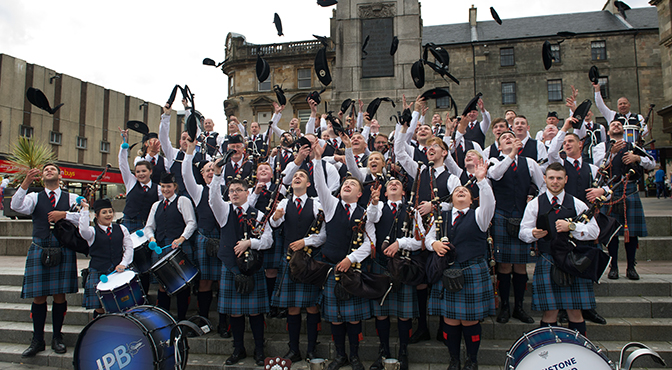 Paisley Centre Stage for Annual West of Scotland Branch Contest