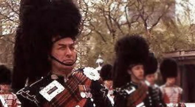 P/M Bob Kilgour MBE, Scots Guards, 1924 -2017
