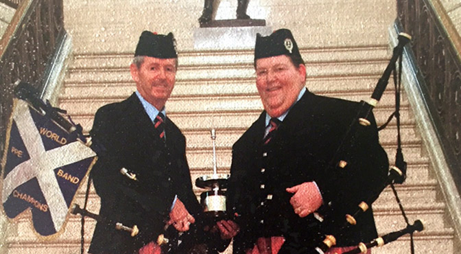My Tune for P/M Richard Parkes of Field Marshal Montgomery Pipe Band