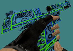 CS 1.6 Blue Circle skins pack by BroThers