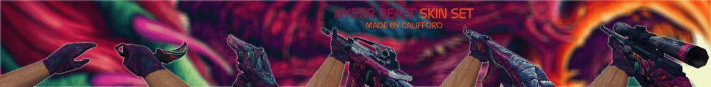 CS 1.6 HYPER BEAST HD weapons models packs