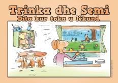 Trinka Semi Dita kur toka u lëkund Albanian
