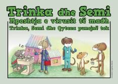 Trinka and Sam Albanian story cover