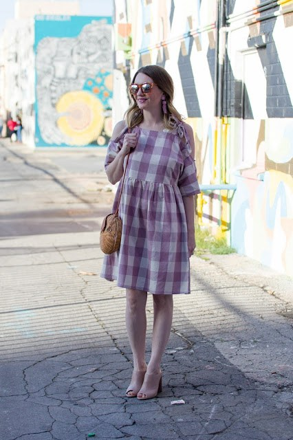 glamorous-pink-gingham-dress-lisi-lerch