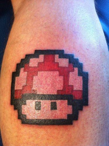 tattoo mushroom
