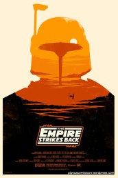 empire strikes back poster
