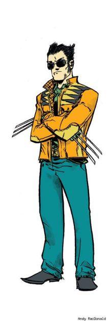 Wolverine hipster