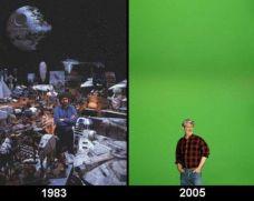 Meme George Lucas Star Wars Before After