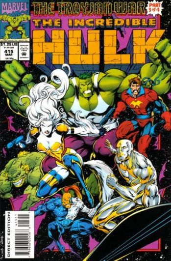 the incredible hulk cover
