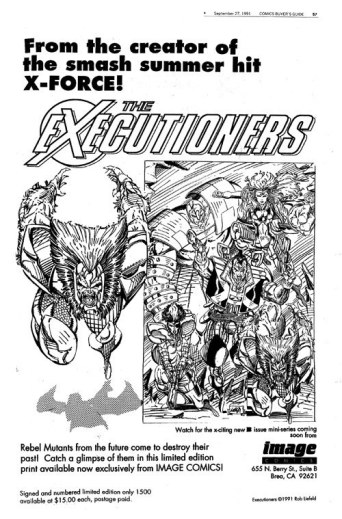 The Executioners_Rob Liefeld