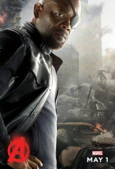 PIPOCA COM BACON - #PipocaComBacon O Que Vi do Filme: Vingadores – A Era de Ultron - Avengers-Age-of-Ultron-Poster-Nick_Fury