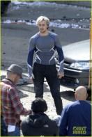 PIPOCA COM BACON - #PipocaComBacon O Que Vi do Filme: Vingadores – A Era de Ultron - Aaron Taylor-Johnson on set of 'The Avengers: Age of Ultron'