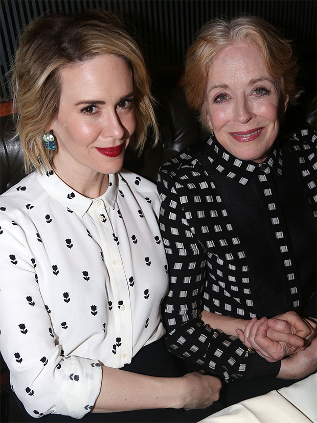 Sarah Paulson and Holland Taylor, still going strong and its not  'Mommy issues'