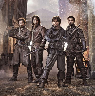 The Musketeers vai acabar na 3ª temporada