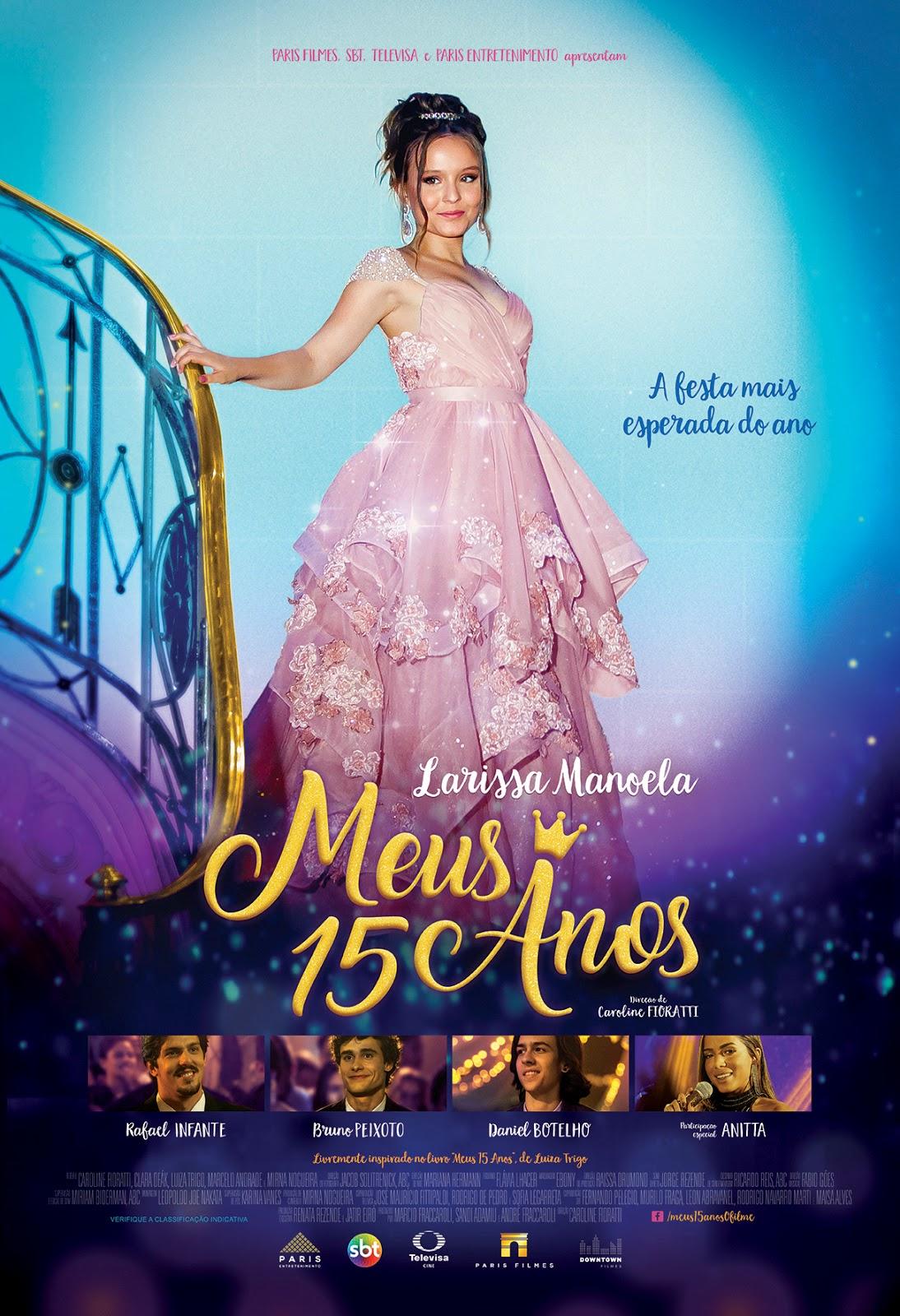 """Com direção de Mauricio Eça (""""Carrossel  O Filme""""), """"Meus 15 Anos"""" tem  previsão de estreia para 15 de junho. 35a63a1343"""