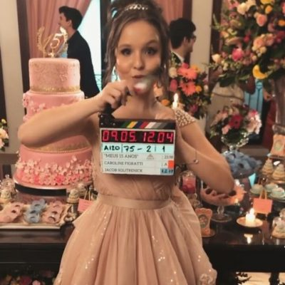 Larissa Manoela fala sobre seu primeiro beijo em vídeo do filme Meus 15 Anos 8dd46eca97