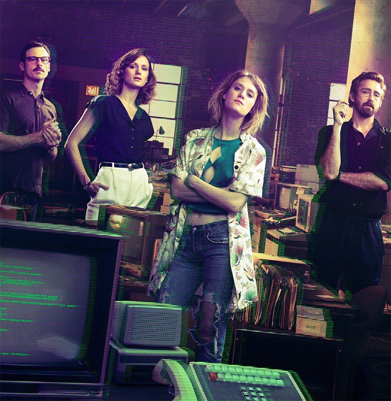 Teaser da 4ª e última temporada de Halt and Catch Fire destaca o surgimento da web
