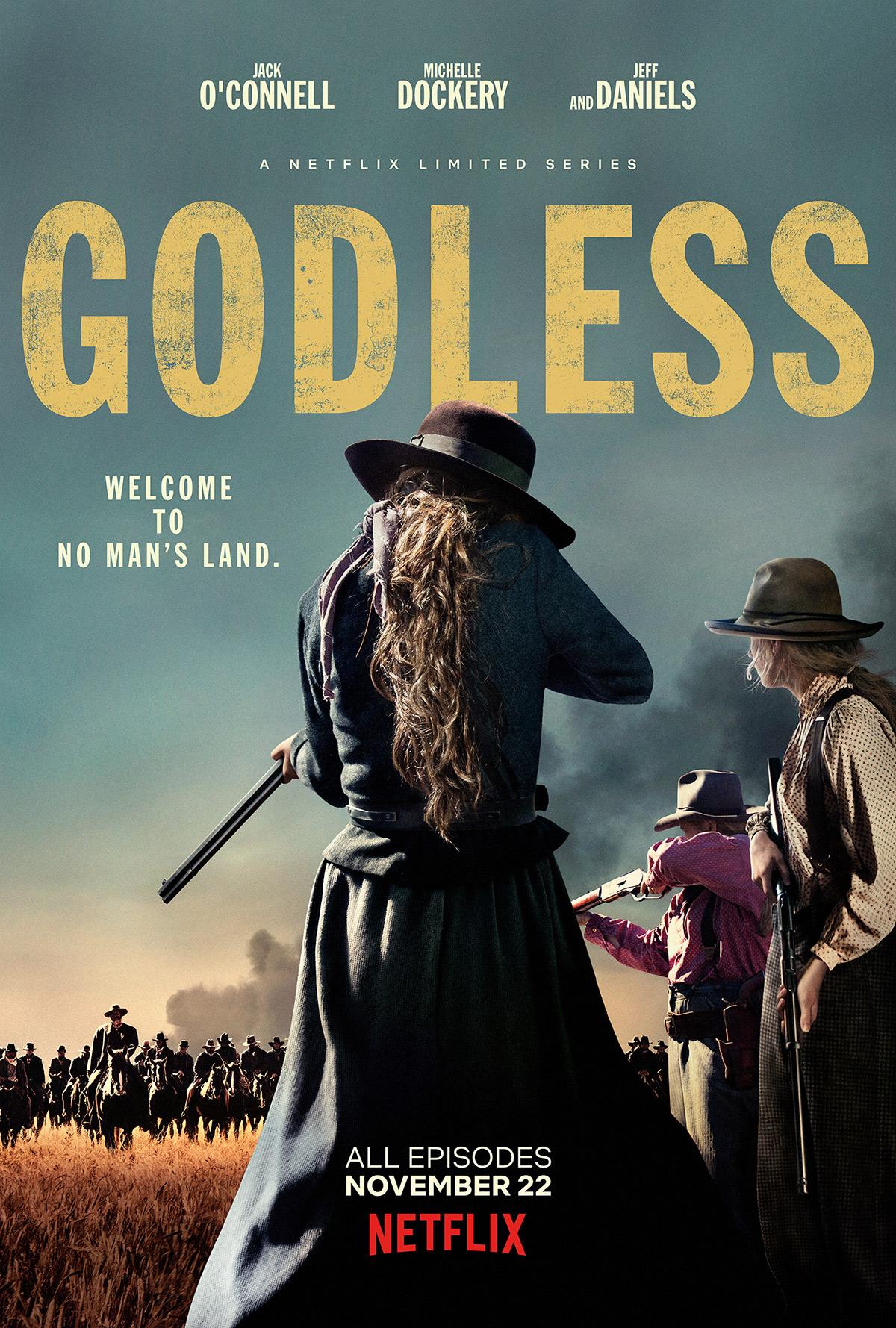 Godless: Série western com Jeff Daniels e Michelle Dockery ganha ...