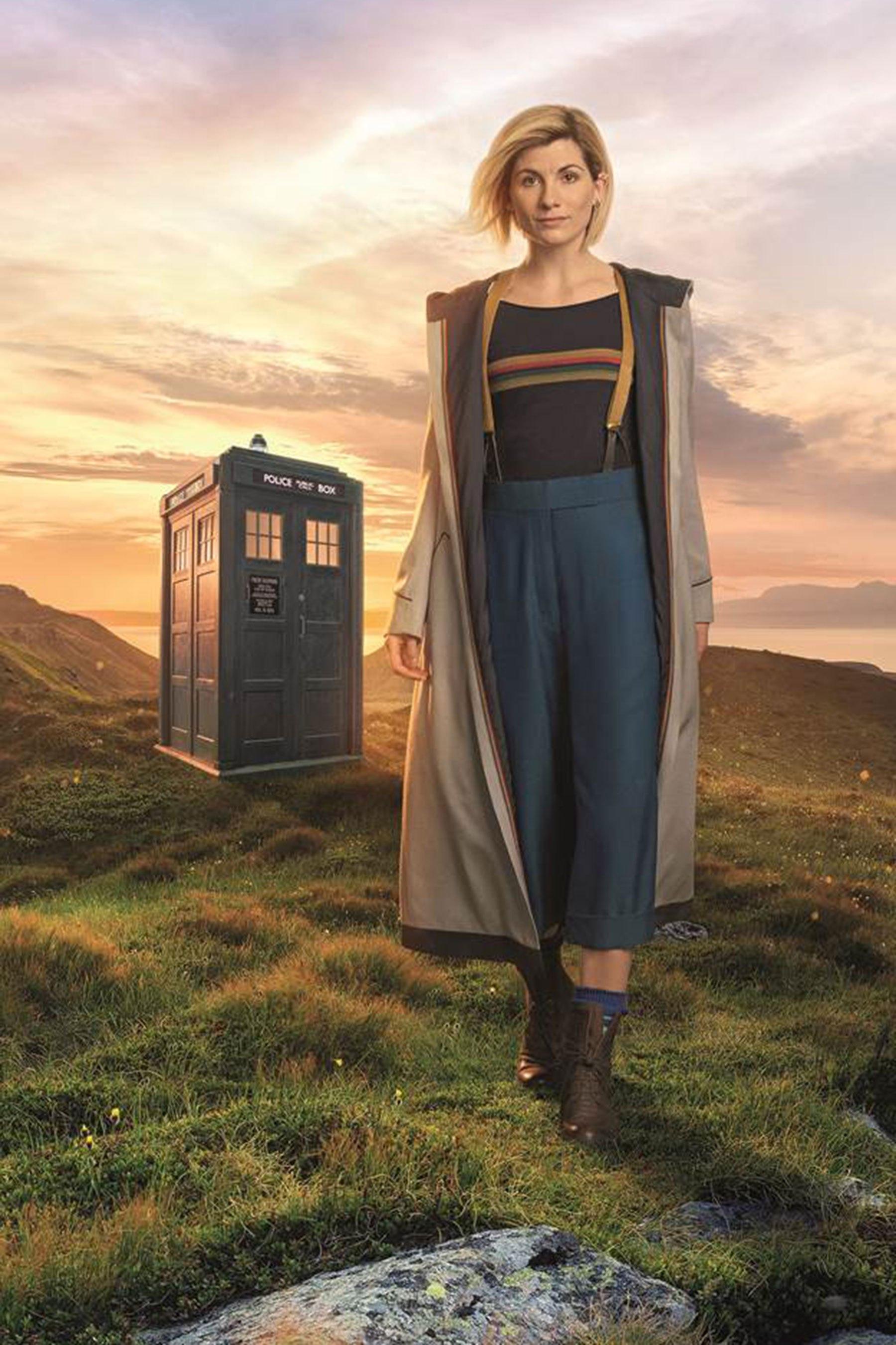 Tardis Girl Wallpaper Foto Revela Visual De Jodie Whittaker Como A Nova Doctor
