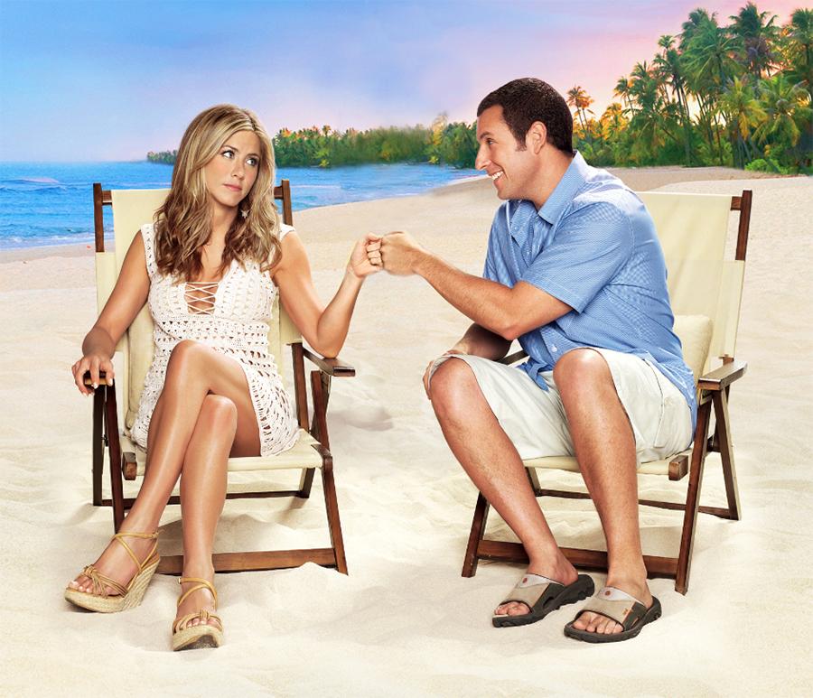 Adam Sandler e Jennifer Aniston vão estrelar comédia da