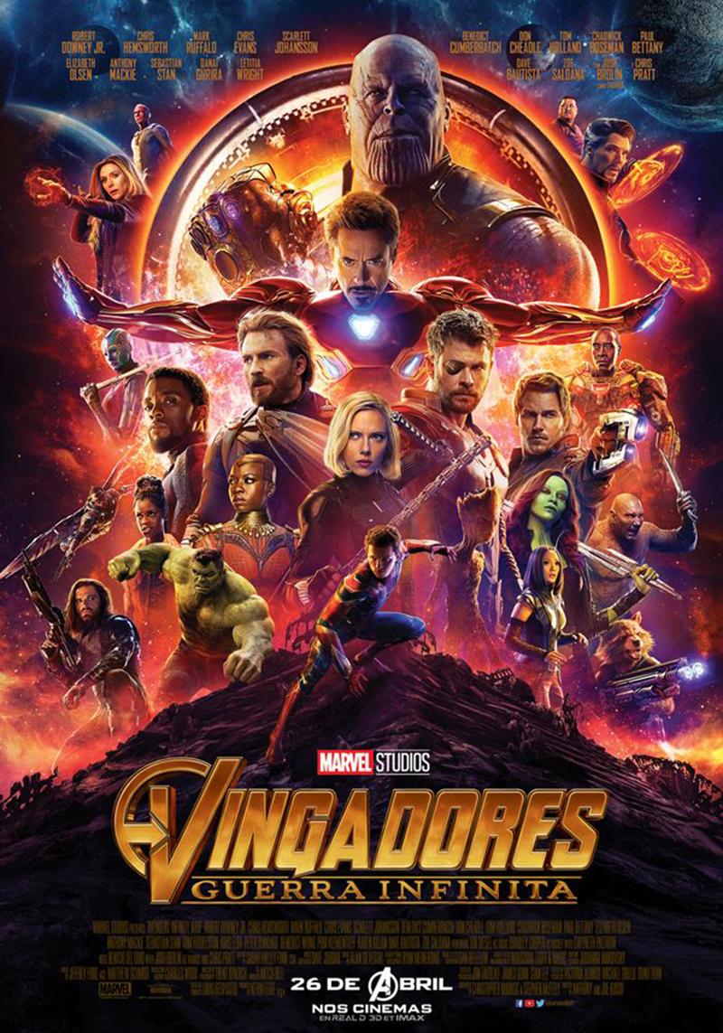 Circuito Cinemas : Vingadores guerra infinita chega com força total aos cinemas