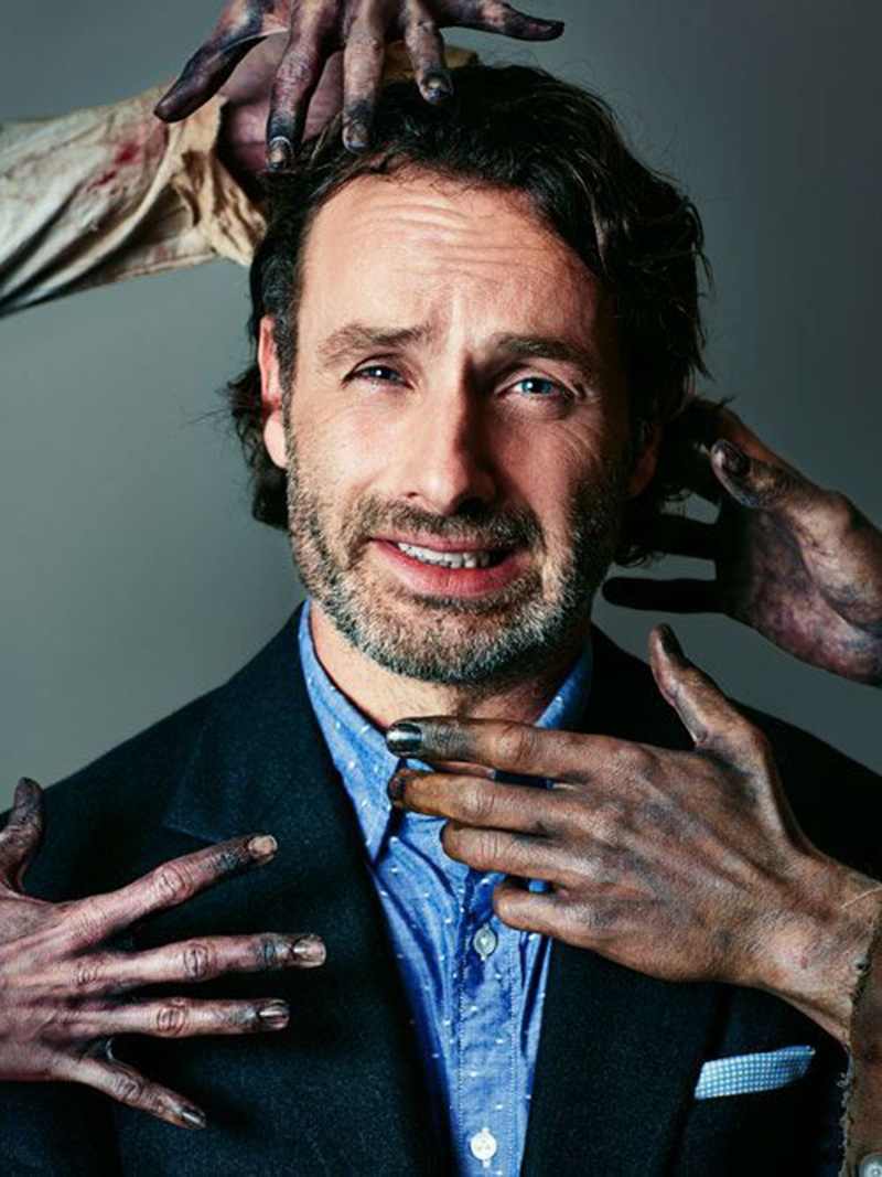 Andrew Lincoln revela o que o levou a sair de The Walking Dead