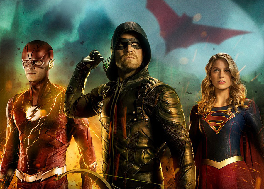 Crossover de Arrow, The Flash e Supergirl ganha título sugestivo