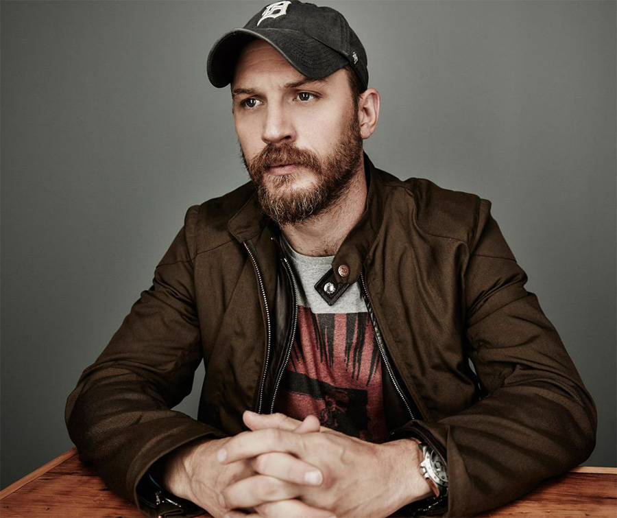 Tom Hardy estaria planejando gravar disco de rap