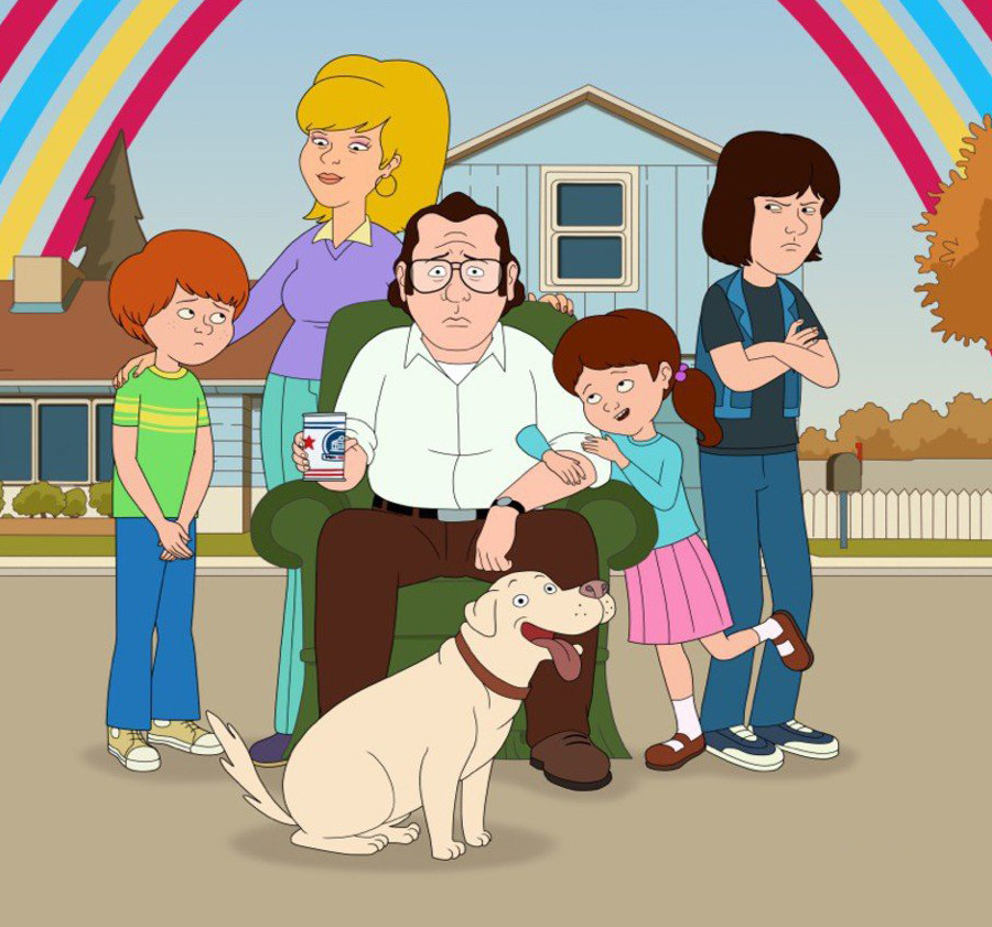 F Is for Family é renovada para sua 4ª temporada