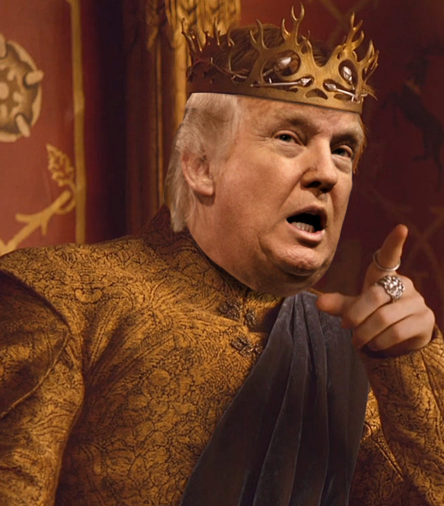 Donald Trump parodia Game of Thrones e é repreendido pela HBO
