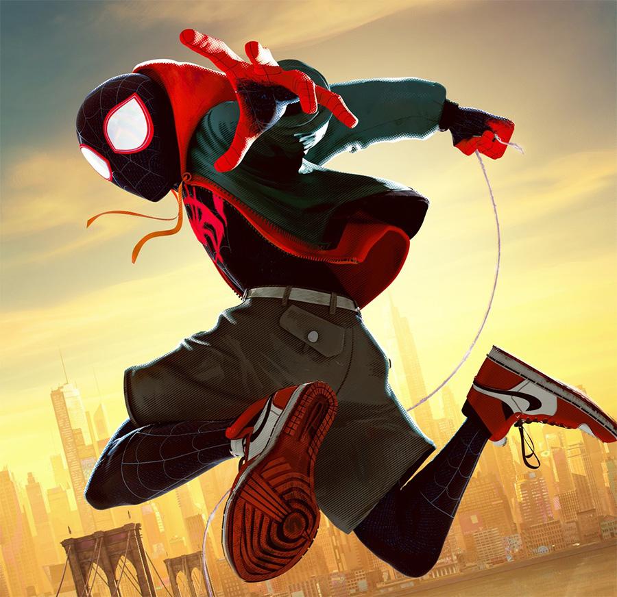 Personagens De Homem Aranha No Aranhaverso Ganham Pôsteres