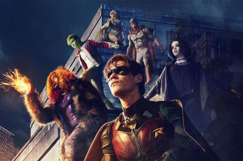 Resultado de imagem para titans serie
