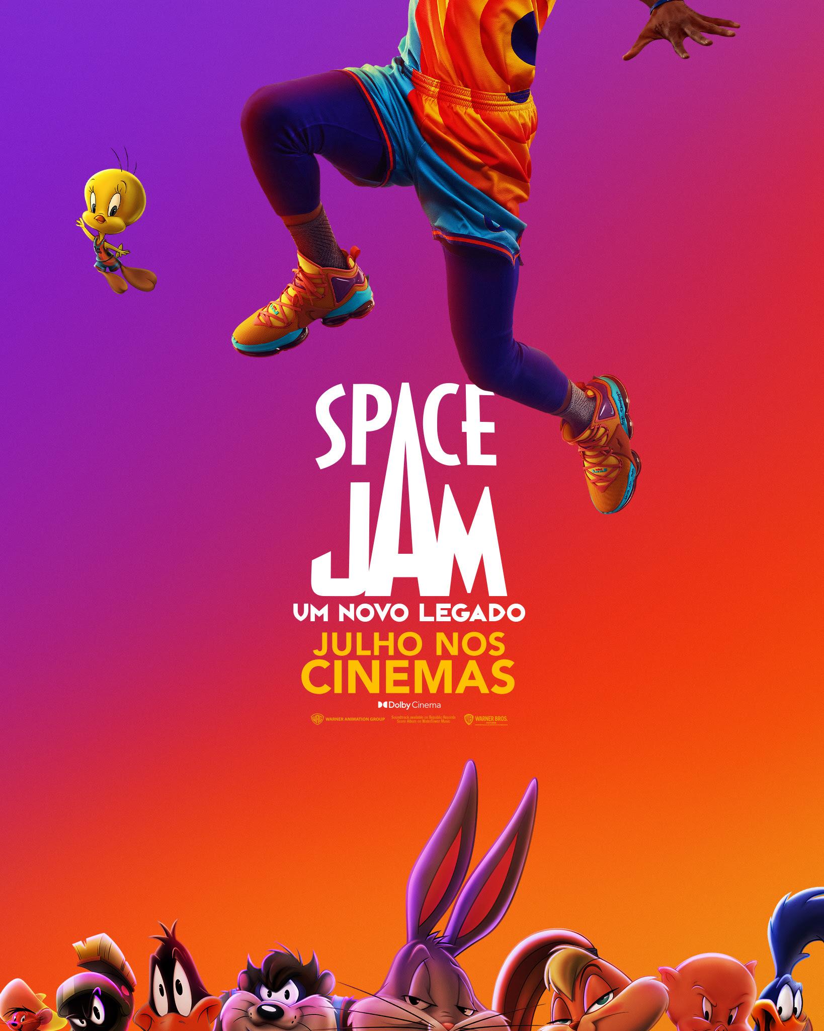 """Novo trailer de """"Space Jam 2"""" reforça que o filme é exclusivo dos cinemas  no Brasil - Pipoca Moderna"""