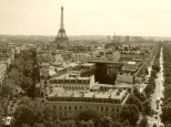 From the top of Arch de Triomphe