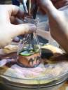 Making a sand bottle