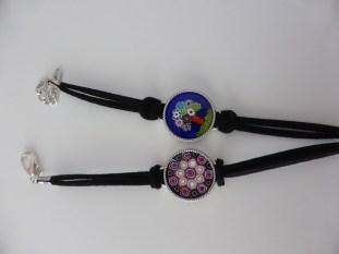 My glass bracelets