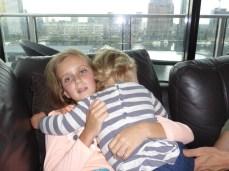 Cuddles with Yarra