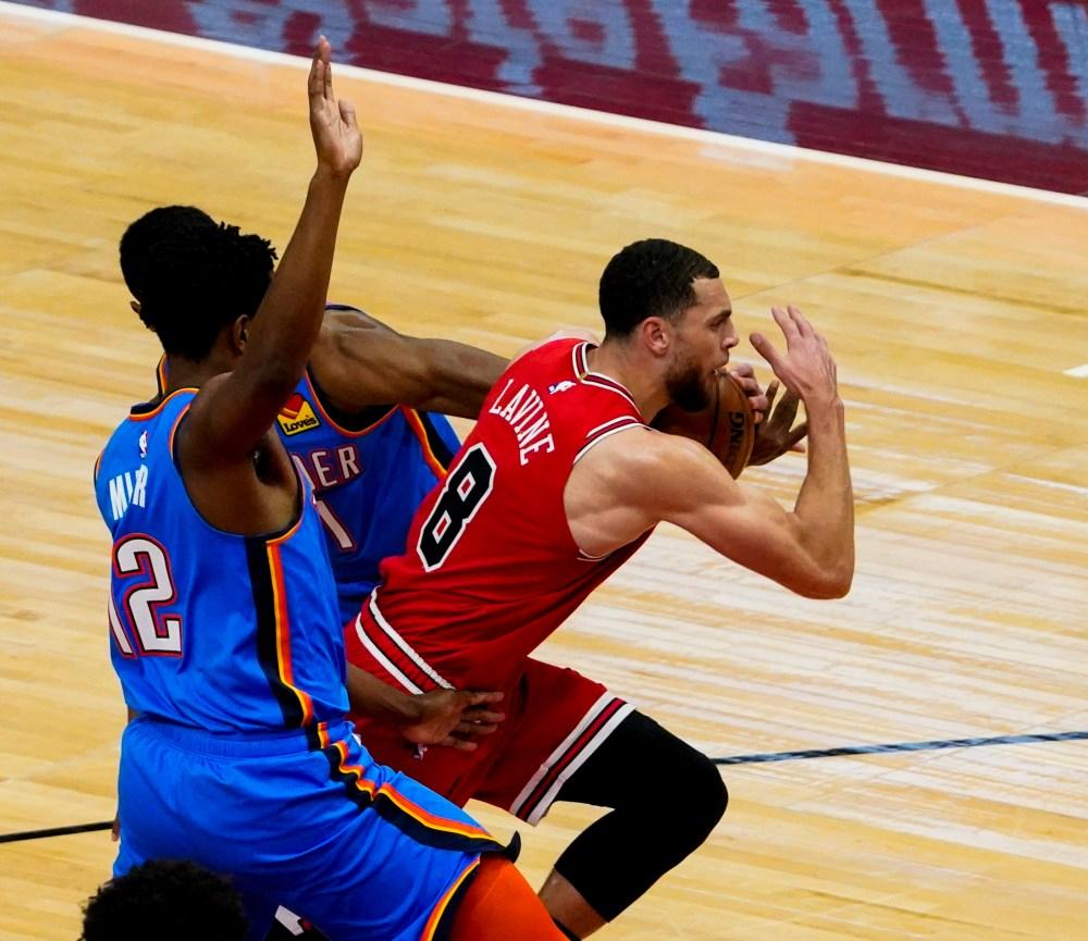 Chicago Bulls: Zach LaVine's offensive surge devastates Thunder
